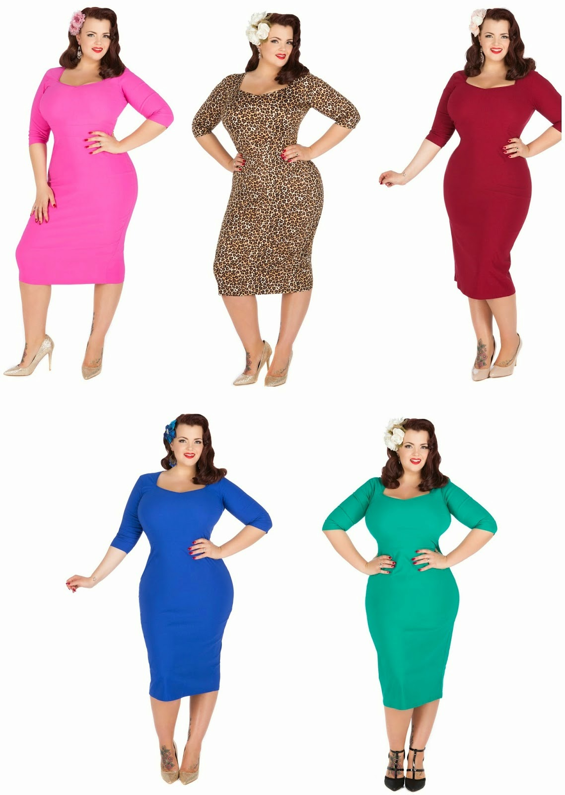 Lady Voluptous, Ruby Thunder, plus size