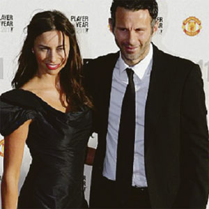 Ryan Giggs Stacey Curang