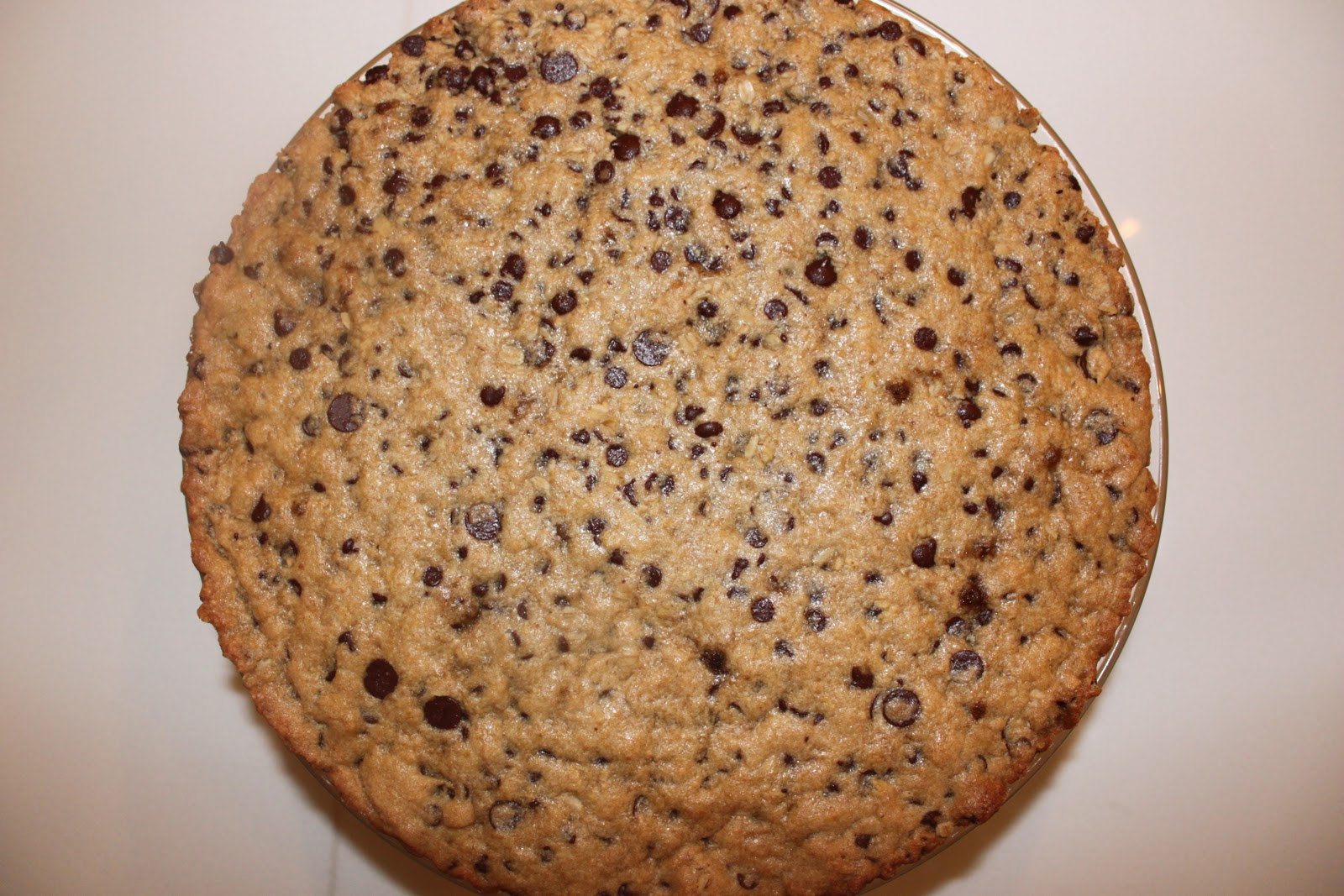 Kosher Cooking Blog- Kim Kushner Cuisine: A Giant Cookie