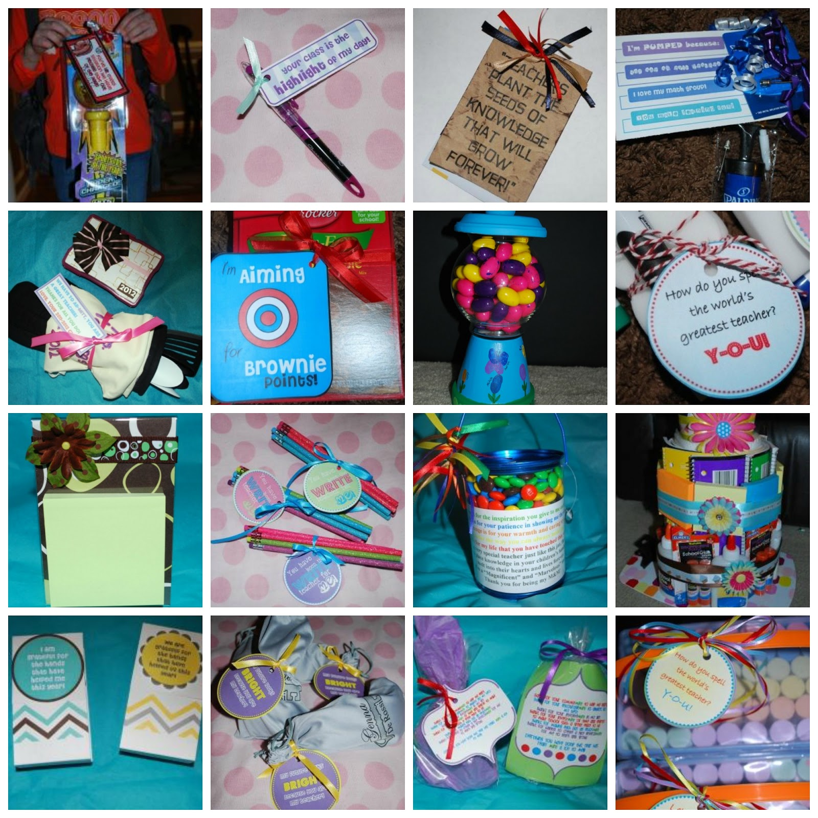 My LDS & Other Projects: Over 15 Teacher Appreciation ...