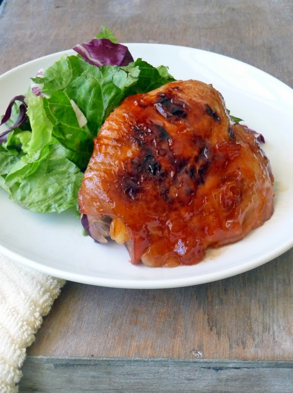 Baked Apricot Chicken | by Life Tastes Good #easyrecipe #economical