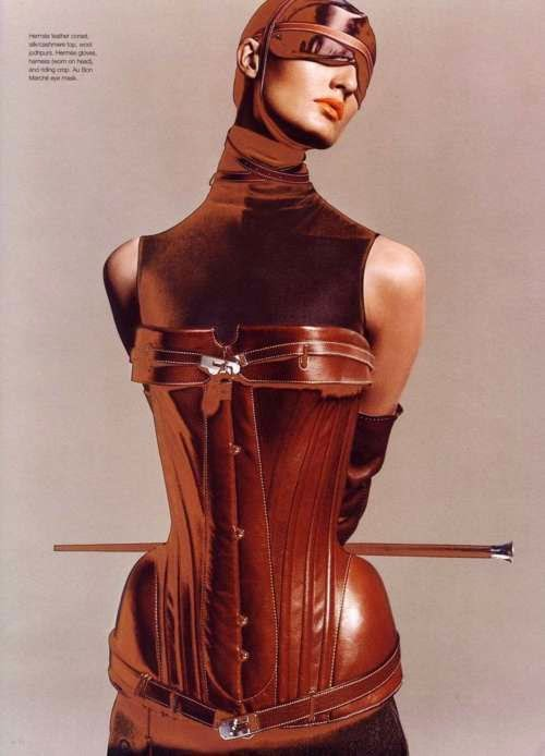 Fetish Accessories : Hermès Corset By Jean Paul Gaultier - Fall 2004