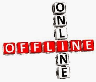 Internet marketing and offline marketing
