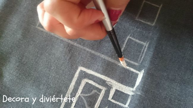 pintar tela , manualidad , personalizar , DIY ,