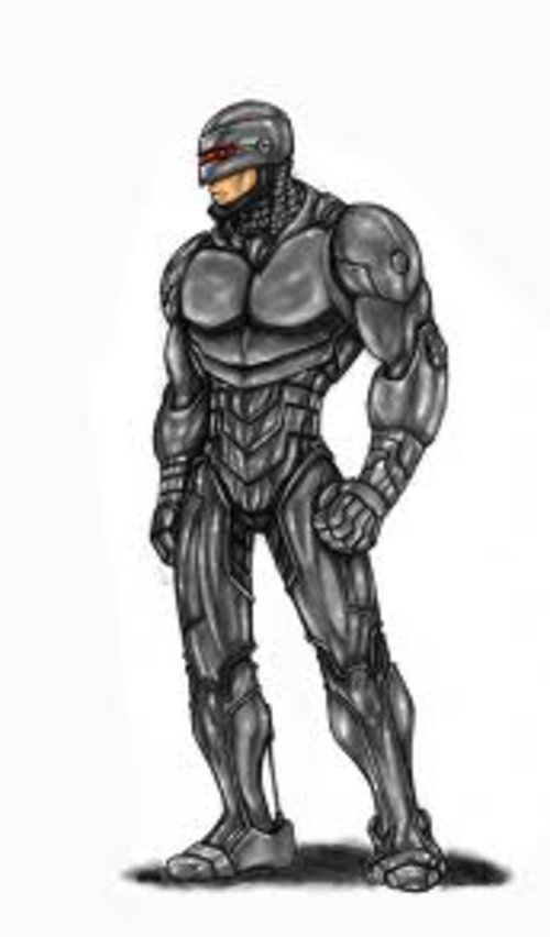Free Coloring Pages Robocop coloring