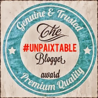 The unpaixtable blogger award!!
