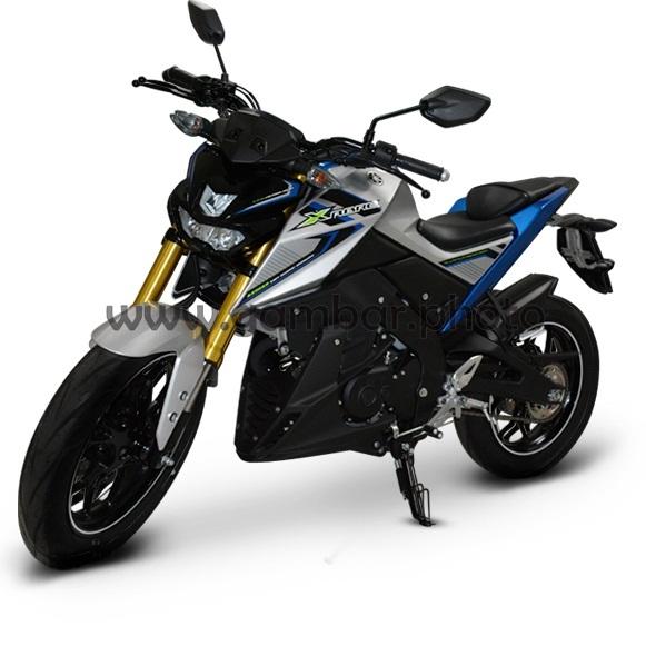 Yamaha Xabre silver clarent