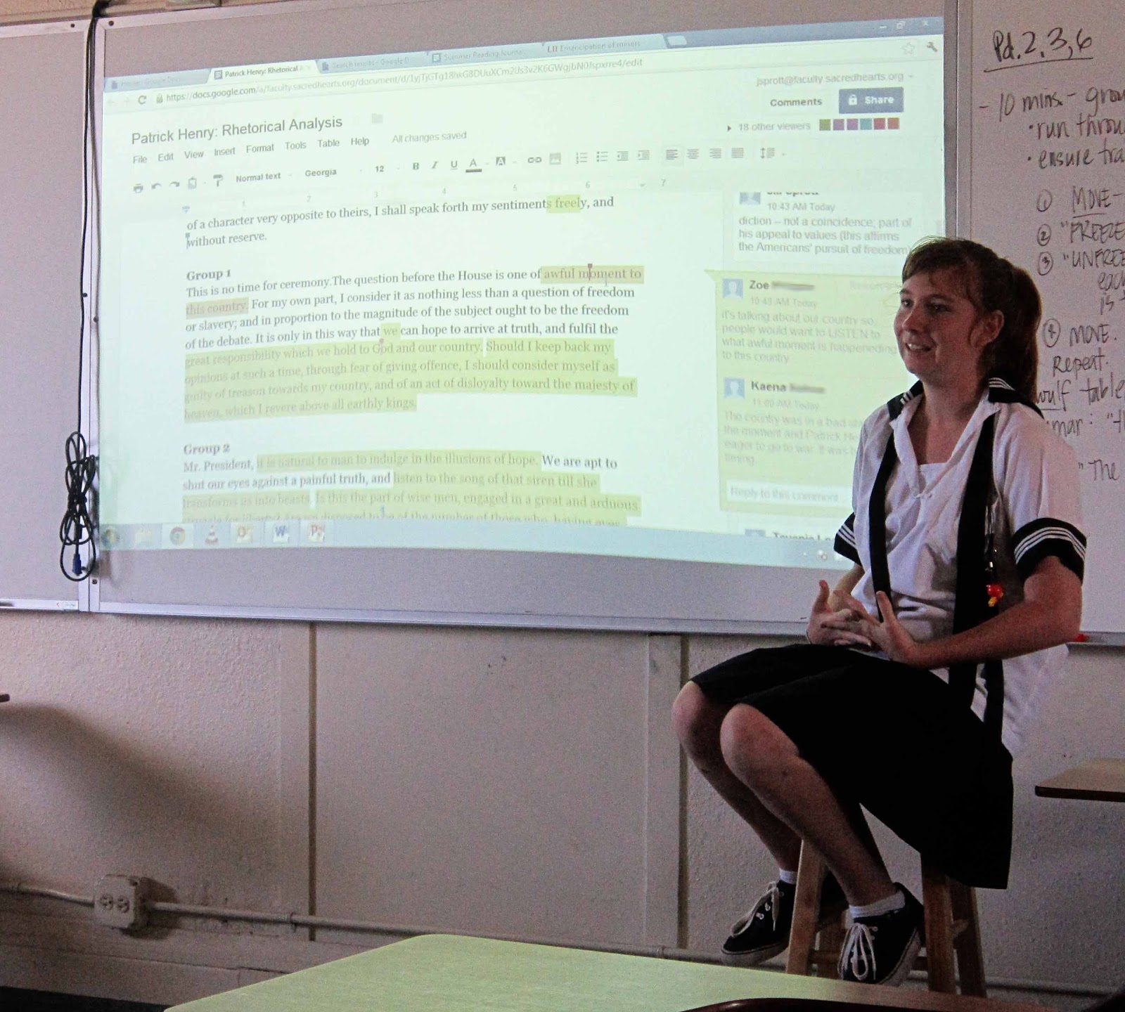"""an analysis of rhetorical devices in the declaration of independence In this lesson, students read and analyze paragraph 34 of """"letter  students  explore how king uses rhetoric and the placement of the passage to advance his  purpose  reading and content, choosing flexibly from a range of strategies   at plymouth and the writing of the declaration of independence."""