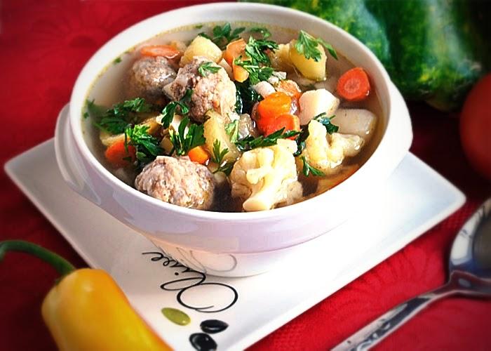Суп из тефтели с рисом рецепт
