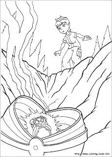 imagens desenhos para colorir ben 10 imprimir pintar