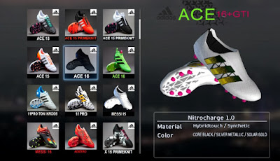 White Next-Gen Adidas Ace 2016 Boots