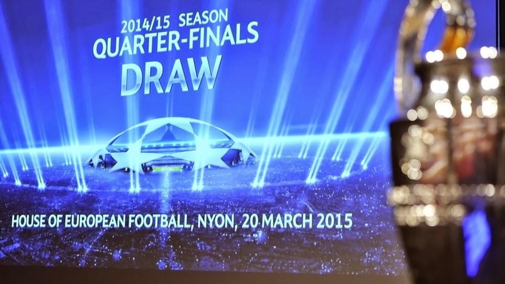 Conozca las eliminatorias de cuartos de final de la UEFA Champions ...