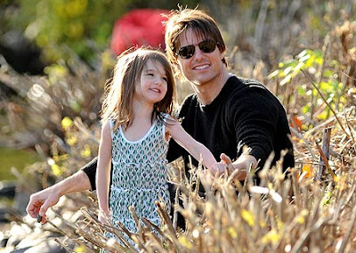 Tom Cruise Cute daughter Suri Cruise