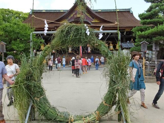 6月と12月、正常な本来の姿に戻るための「大祓」が行われる。