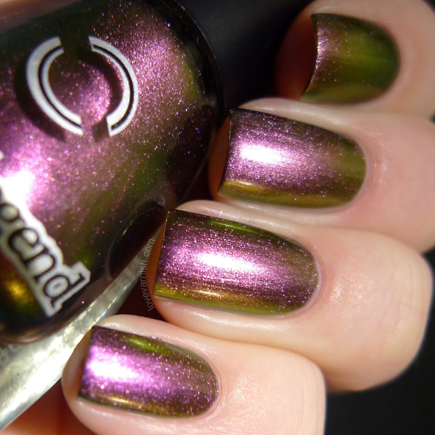 Dance Legend Chameleon Roz multichrome polish