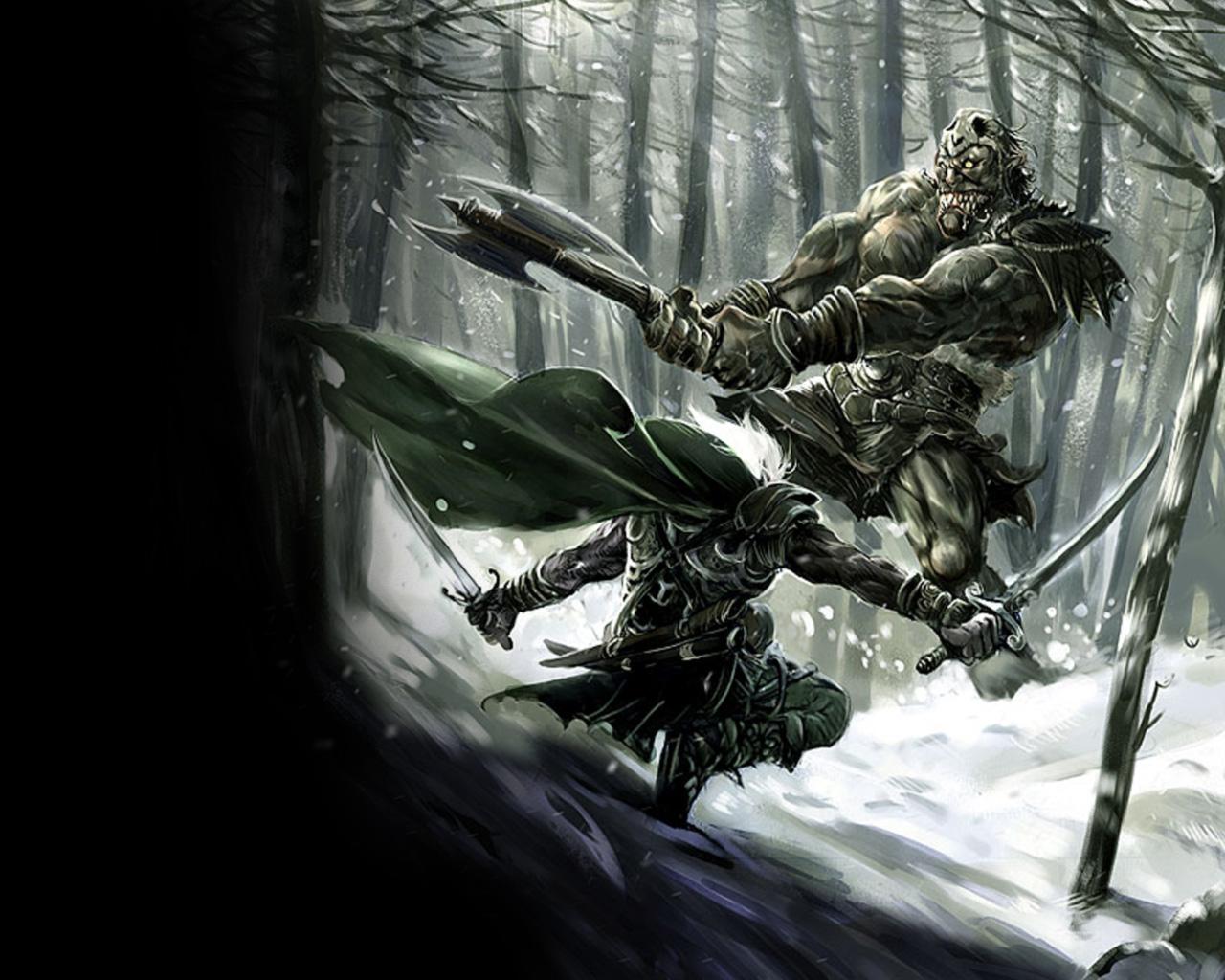warrior elf desktop wallpapers - photo #37