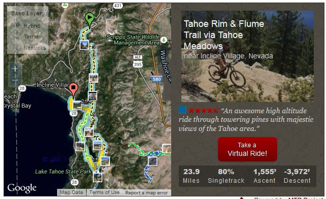 http://www.mtbproject.com/trail/1221910/tahoe-rim-flume-trail-via-tahoe-meadows/tour