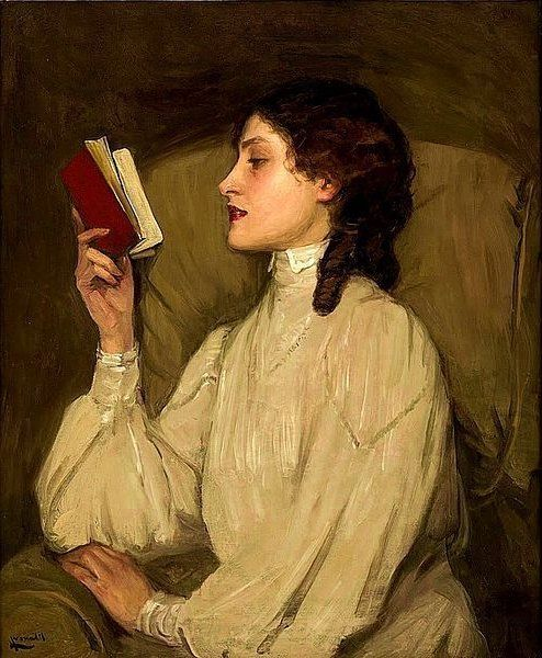 23.-Mujer leyendo