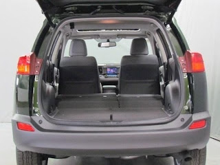 RAV4 cargo space