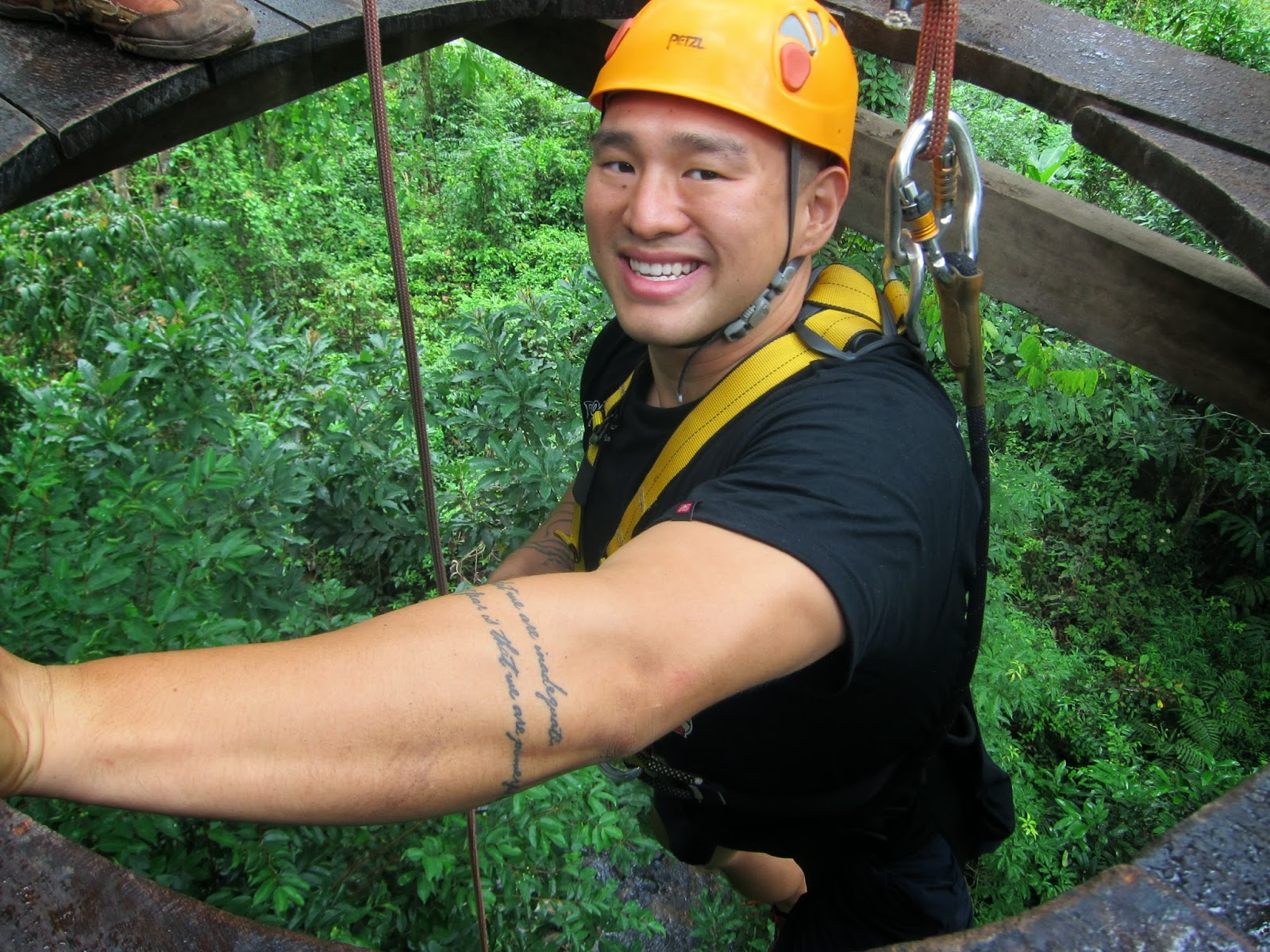 Zip Lining Chiang Mai Dragon Flight