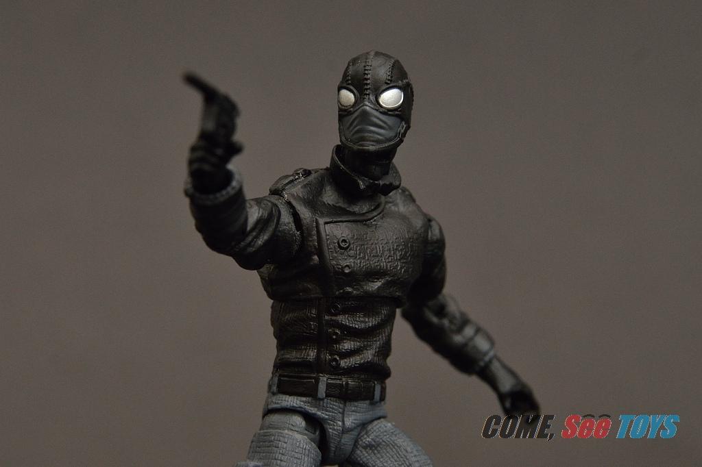 come see toys marvel legends series spider man noir. Black Bedroom Furniture Sets. Home Design Ideas