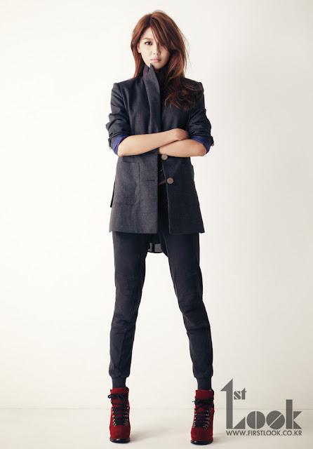 Sooyoung posa para' 'First Look y habla de qué tipo de novia  le gustaría ser Snsd+sooyoung+first+look+(4)