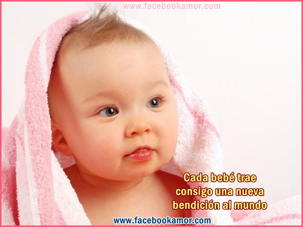 Postales bonitas de bebe para facebook