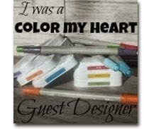 Color My Heart Color Dare               Guest Designer