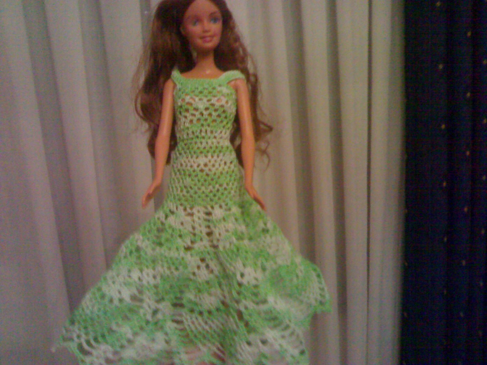 Marluce Alexandre ( Crochê ): Roupas da Barbie #4E683F 1600 1200