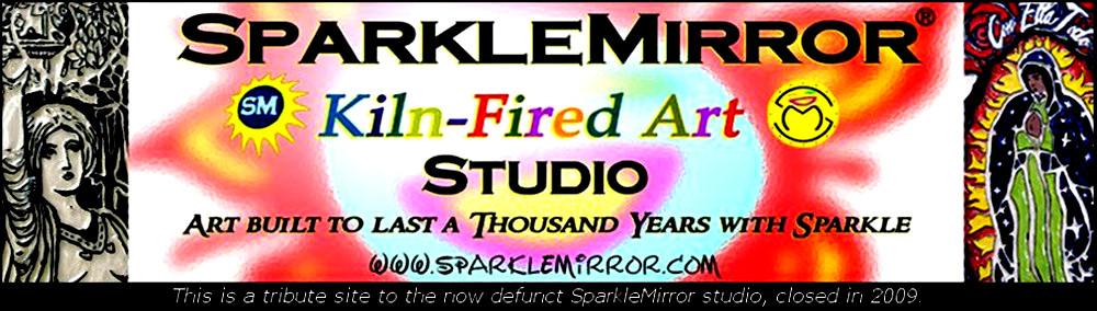 SparkleMirror Kiln-Fired Art Studio