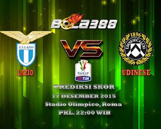 Agen Bola Terpercaya : Prediksi Skor Lazio Vs Udinese 17 Desember 2015
