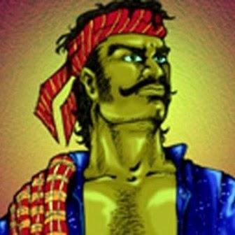 Jampang, salah satu tokoh cerita rakyat Betawi.