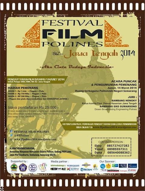 Festival Film Polines Se-Jawa Tengah 2014