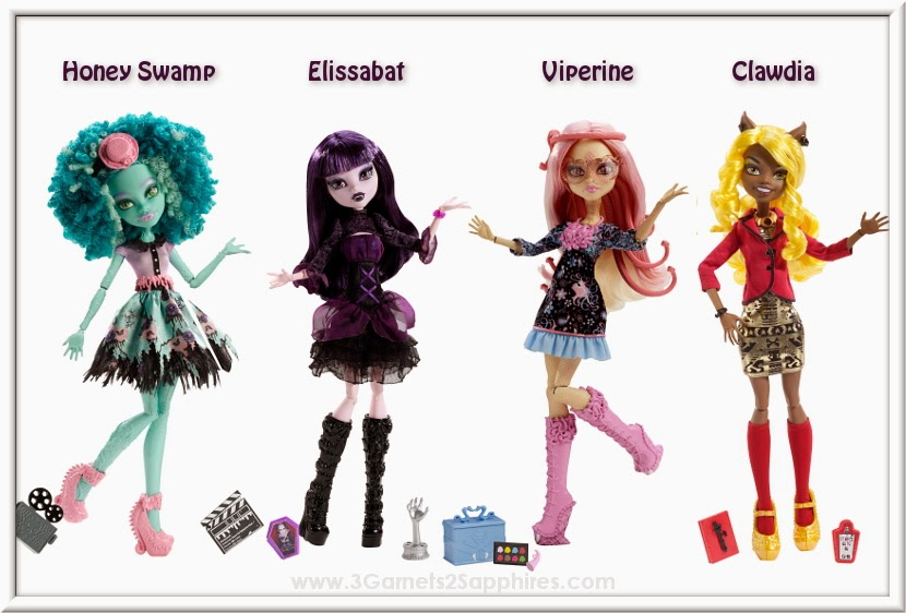 Monster High Frights, Camera, Action! Fashion Dolls