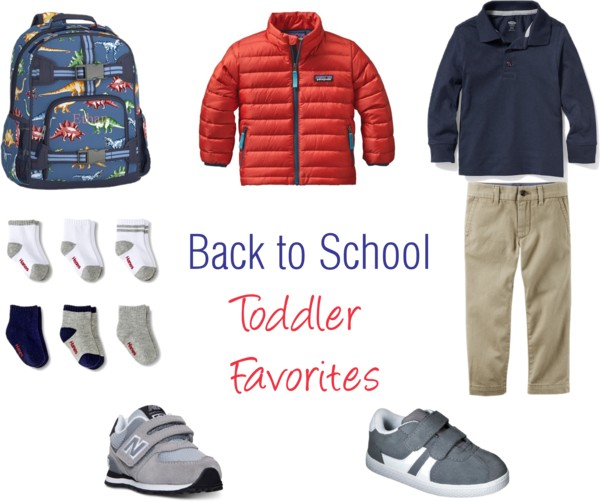 Back to School Toddler Favorites