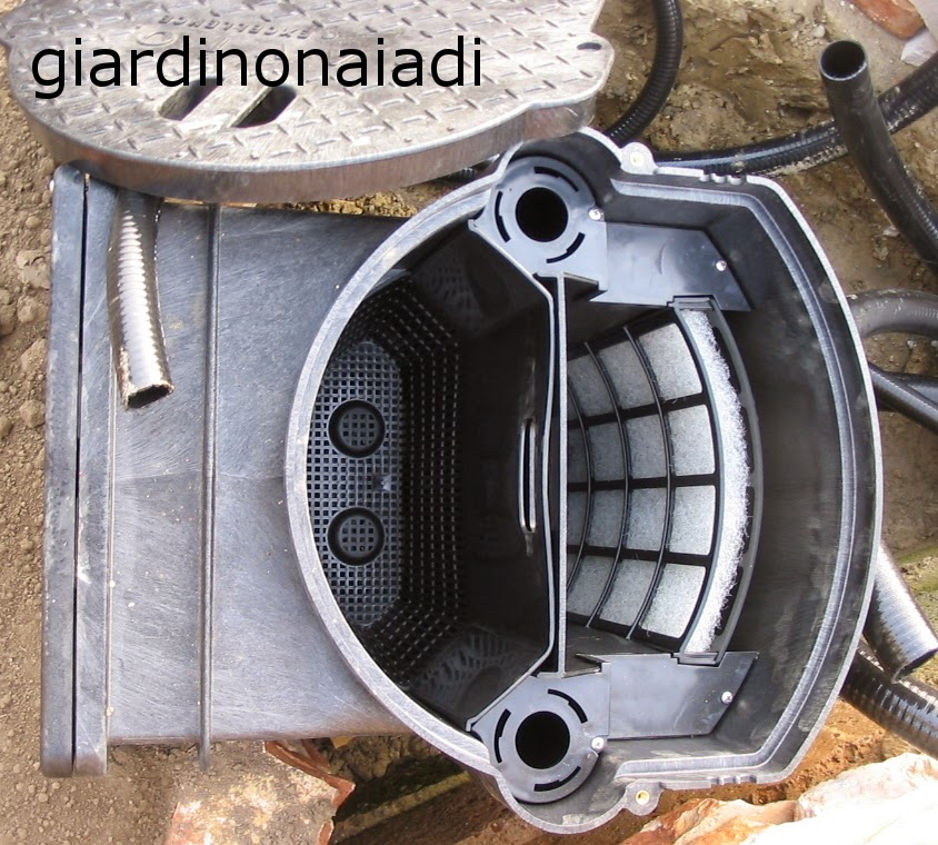 Il giardino delle naiadi filtrazione naturale e tecnica for Pompa acqua laghetto