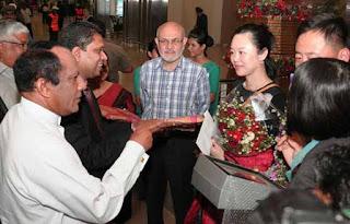 Sri Lanka welcomes1000,000th tourist