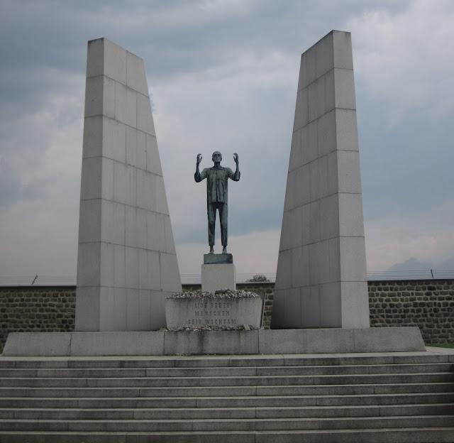 Czechoslovakia Monument, Mauthausen Concentration Camp, Vienna / SouvenirChronicles.blogspot.com