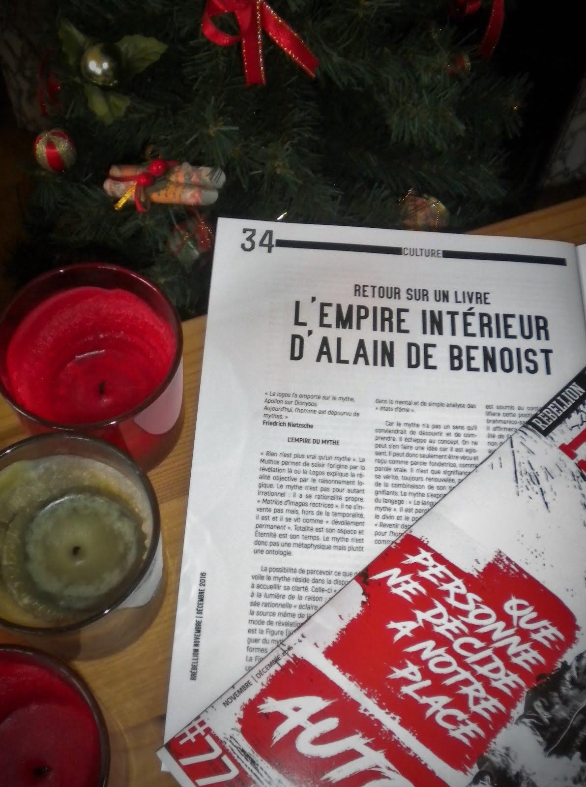 Une analyse de l'Empire intérieur