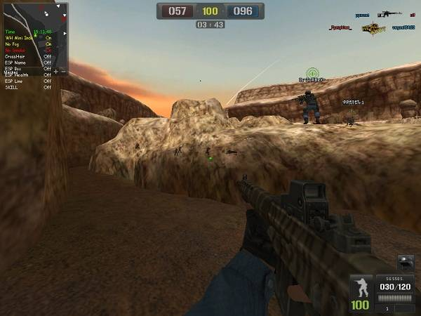pbhack25 Point Blank Hile 08.01.2013 Wallhack Maincit All World Menü indir   Download