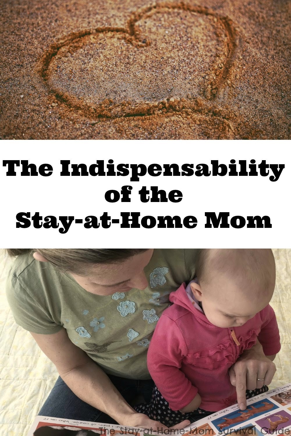 Being a stay-at-home-mom is important. We don't choose it because we are rich, or lazy, we choose it because of the benefits it provides our family. We are valuable.