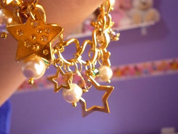 pulseira dourada
