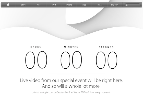 Apple - Live - Countdown to the Apple Special Event