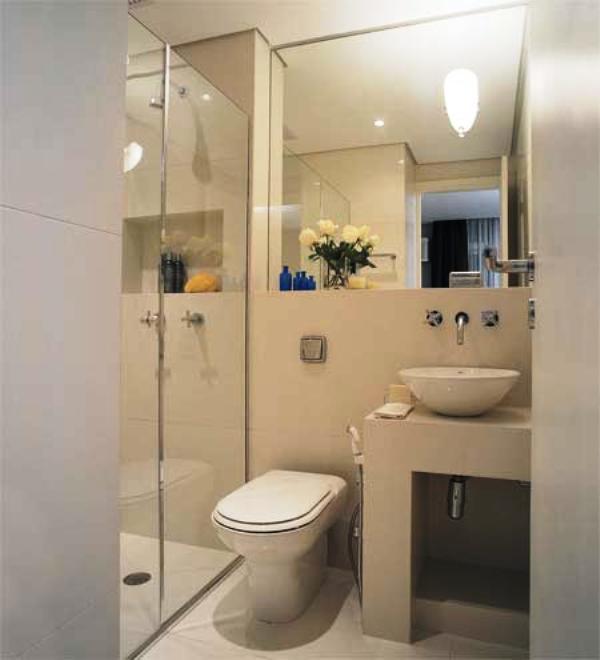 decoracao de banheiro retangular pequeno : decoracao de banheiro retangular pequeno:Dicas para Decoração: Decoração para banheiros pequenos