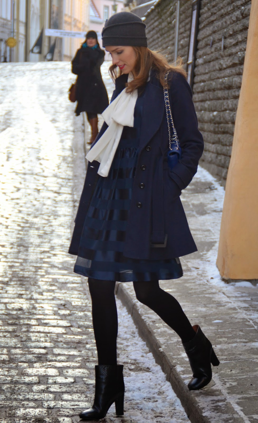 lindex-sheer-blue-dress-winter-outfit