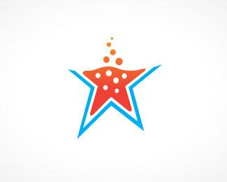 diseño de logos con estrellas