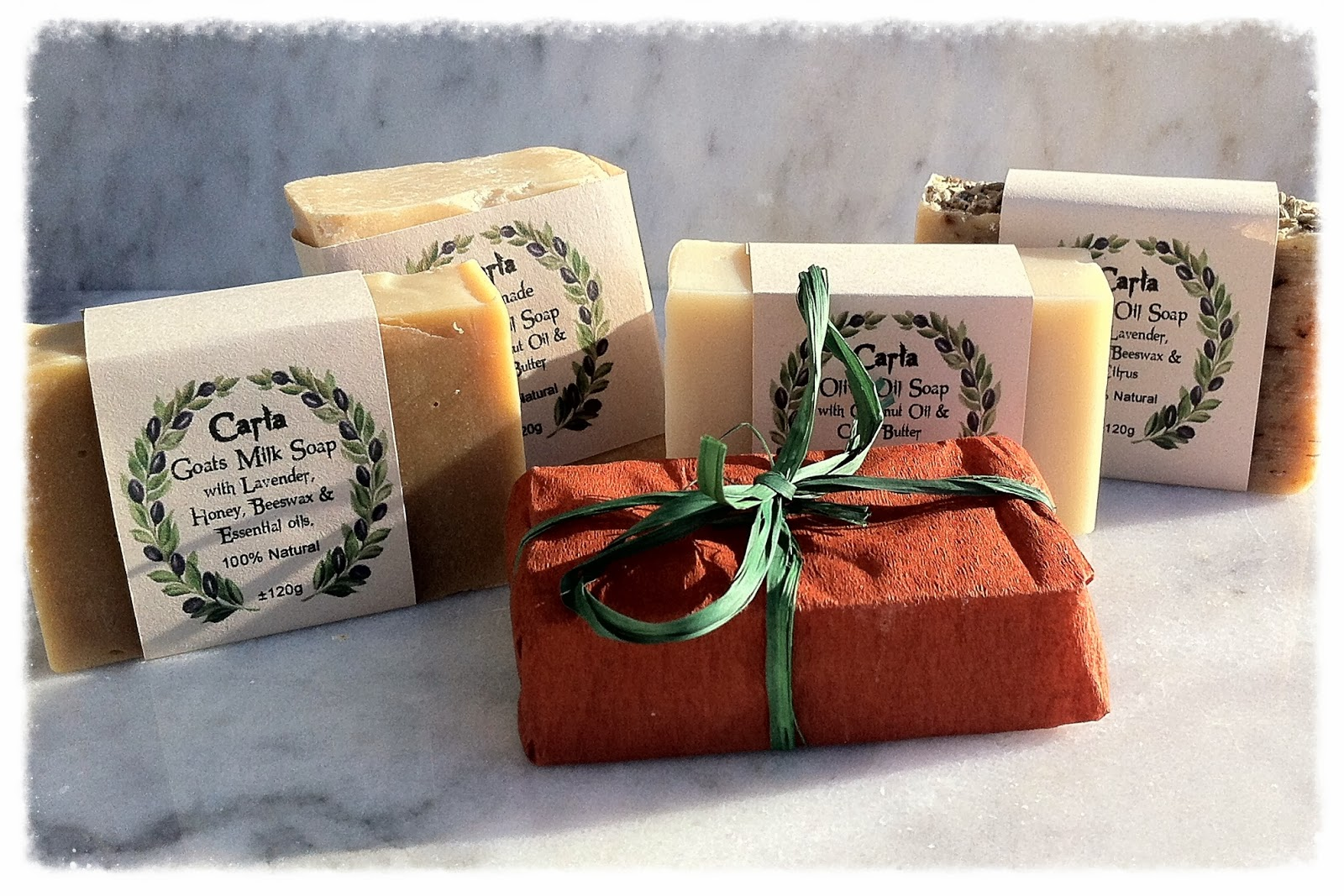 Handmade soap from Turkey