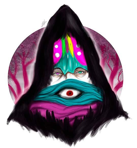 Ilustración de Stiven Mesa aka Caym Jaeger