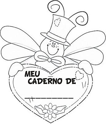 Educação Adventista Blog Capa De Caderno Para Colorir Portugues