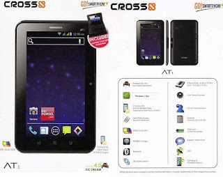 Cross AT1, Spesifikasi Cross at1, Harga Cross at1, Tablet Android 7 Inci,tablet Cross AT1